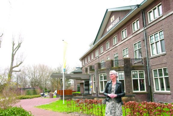 Marije Fakkert voor het Gouden Hart Franeker