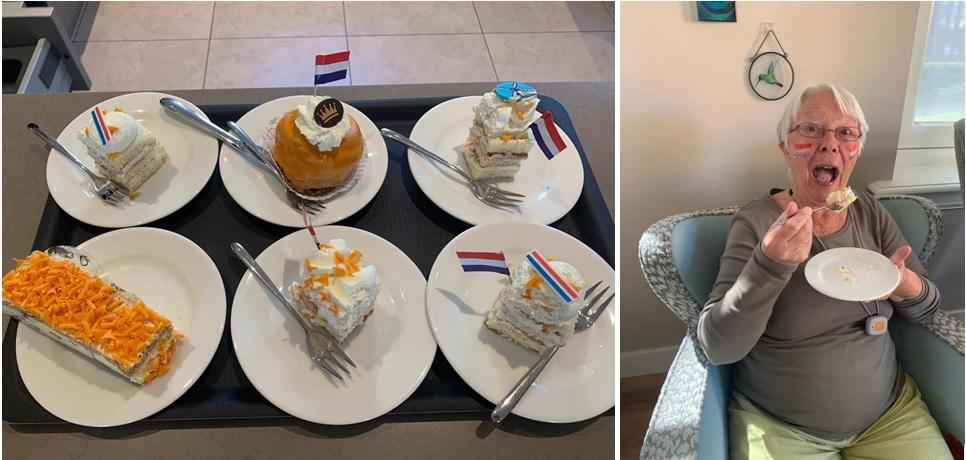 Oranje gebak, tompoucen en bollen voor Koningsdag